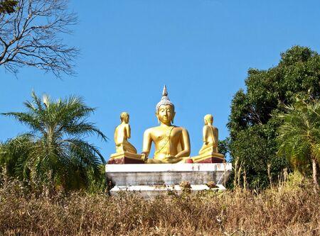 golden Buddha statue  in Thailand Stock Photo - 10651792