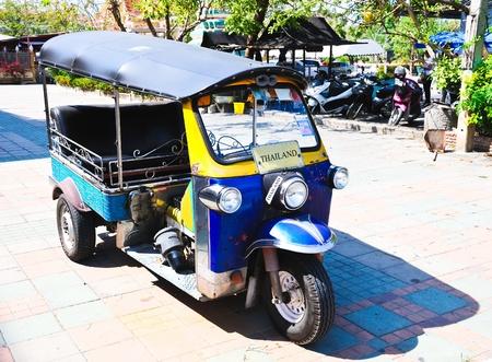 Tuk Tuk  in Thailand photo