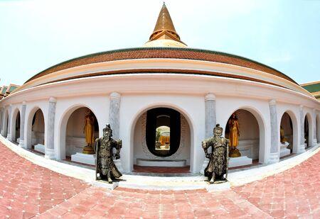 Wat Phra Pathom Chedi in Thailand Stock Photo - 14103099