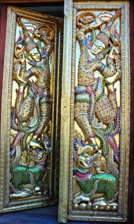 Door of Thai style Stock Photo - 15016113