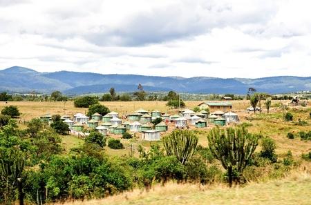 vivienda rural en el sur de África