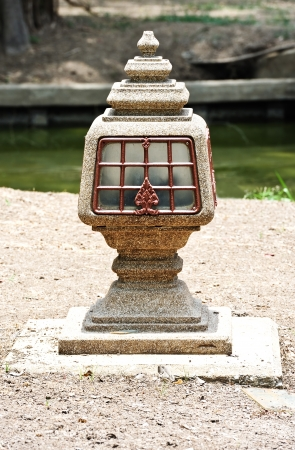 Thai style Lamp Stock Photo - 16287361