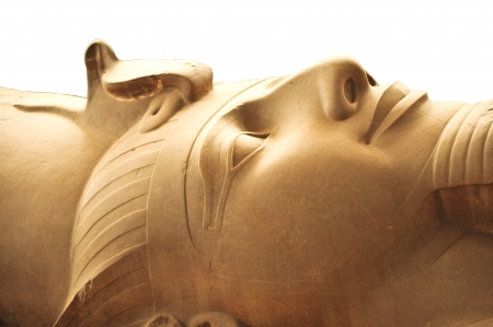 Statue of Ramses II in Egypt photo