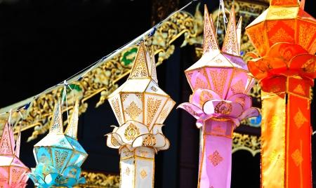 Lanna lantern Stock Photo