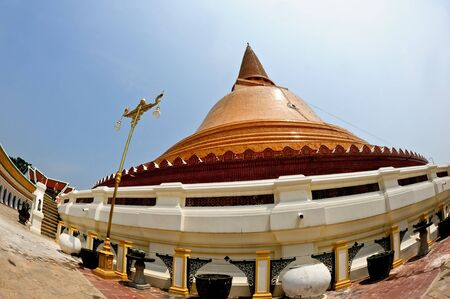 Wat Phra Pathom Chedi in Thailand Stock Photo - 17876050
