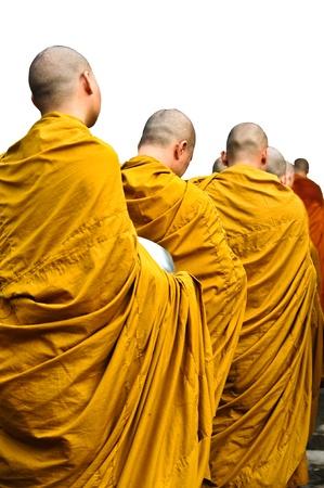religious clothing: Buddhist monk Stock Photo