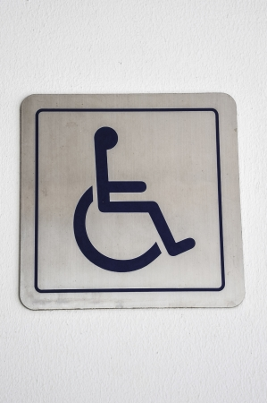 handicap symbol, disabled sign photo