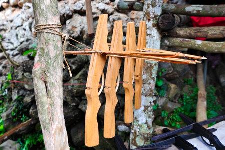 crossbow: handmade crossbow