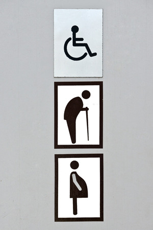 loo: toilet sign