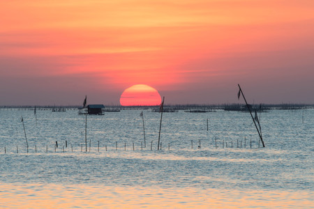 sunset in the sea,Thailand