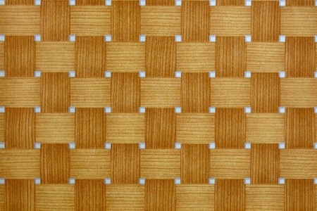 wicker texture painted on laminate Stock Photo