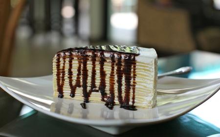 chocolate layer cake Stock Photo - 13159072