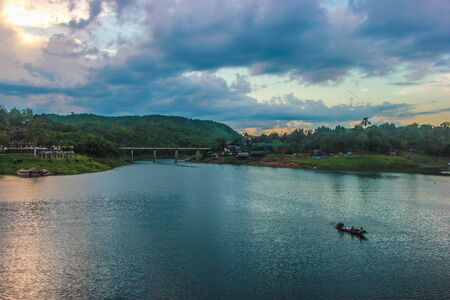 Sangkhla Buri, Kanchanaburi Province in Thailand
