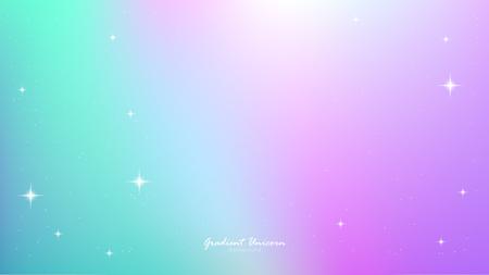 Unicorn Gradient background colorful.
