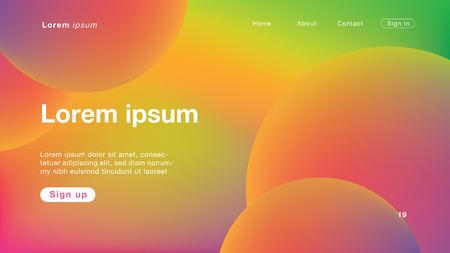 Background abstract all color light for Homepage. Vector Illustration EPS10.