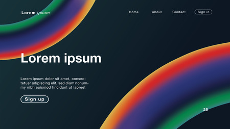 Background abstract all dark color Curve for Homepage. Vector Illustration EPS10.
