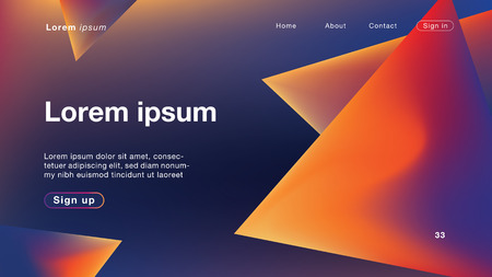 Background abstract dynamic triangle dark light for Homepage. Vector Illustration EPS10.