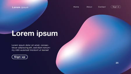 Background abstract pink blue color Curve for Homepage. Vector Illustration EPS10. Иллюстрация