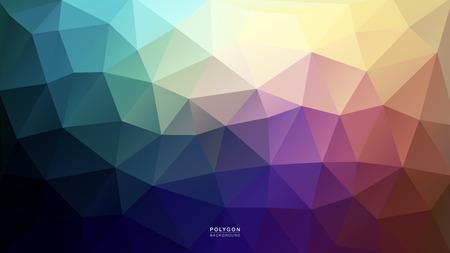 Polygon Blue Purple Light. Polygonal Hex color Gradient for Background. Texture Background. Vector Illustration EPS10 file.