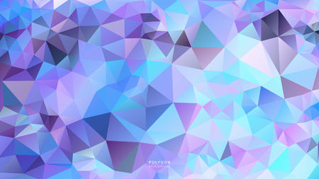 Polygon Purple Cystal Light. Polygonal Hex color Gradient for Background. Texture Background. Vector Illustration EPS10 file.