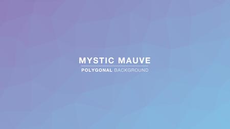Mystic Mauve Polygonal gradient colors. Polygonal for Background. Vector Illustration EPS10