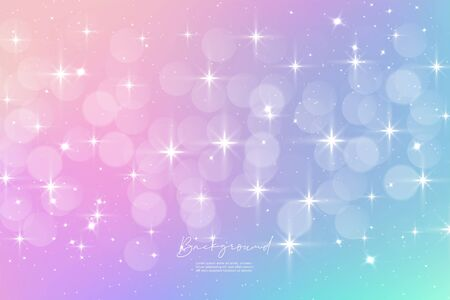 Unicorn Sky Colorful Gradient 05