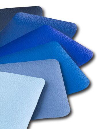 leatherette: Blue Tone Leatherette color sample