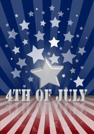 The fourth of july independence day Stock Photo - 7213194