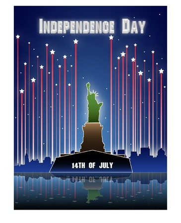 The fourth of july independence day Stock Photo - 7213192