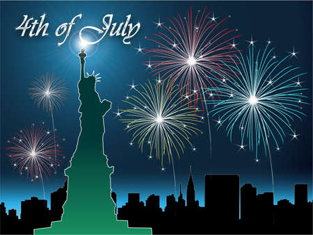 The fourth of july independence day Stock Photo - 7213195