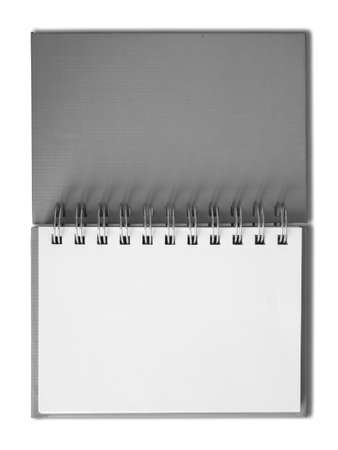 Notebook horizontal single blank page Stock Photo - 7213199