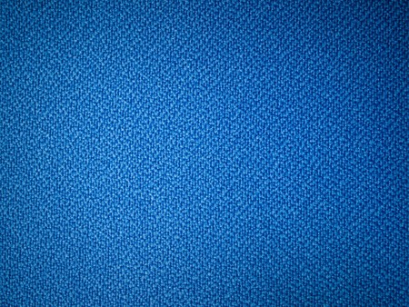 Blue fabric texture sample for interior design photo