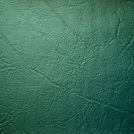 leatherette: Green Leatherette sample and texture Background