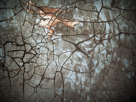 Abstract of crack old grunge color Stock Photo