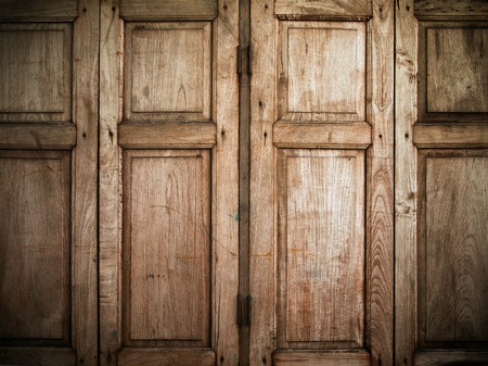 wood texture background: Close old grunge window texture
