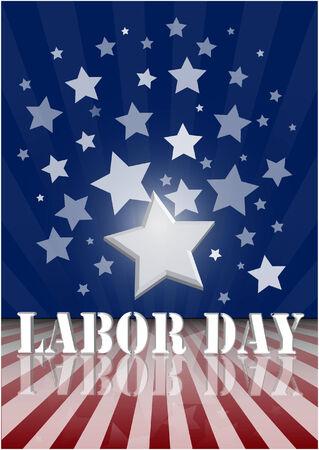 america labor day Illustration