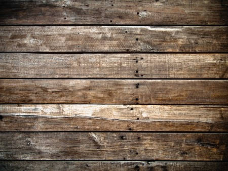 grungy wood: Old panel wood background Horizontal
