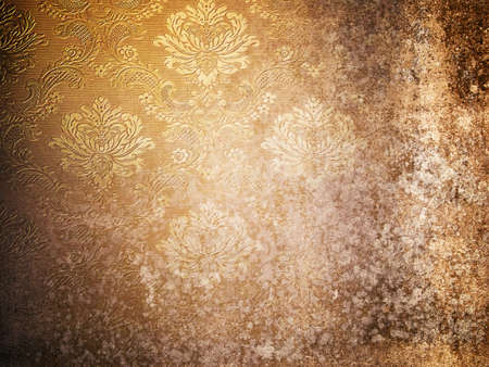 Texture of Grunge old wallpaper for Web Page Background Stock Photo - 8042426