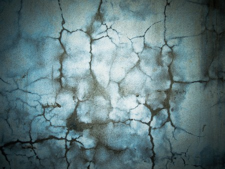 Abstract image of a wall plastered wet cement Stock Photo