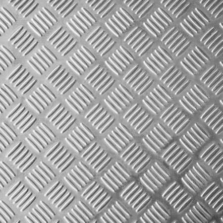 siderurgia: textura de placa de piso de brillante de acero inoxidable