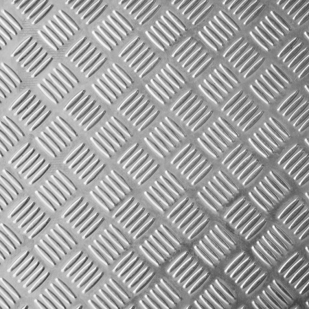 steel: texture of bright stainless steel floor plate Stock Photo