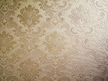 light Brown tone Damask style wallpaper Pattern background Stock Photo - 8487829