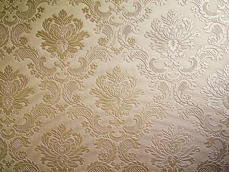 light Brown tone Damask style wallpaper Pattern background photo