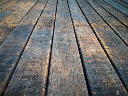 wood floor: Texture of perspective Old wood floor