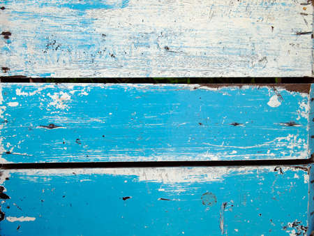 Surface of old wood Paint over with white and blue Stock Photo - 8880368
