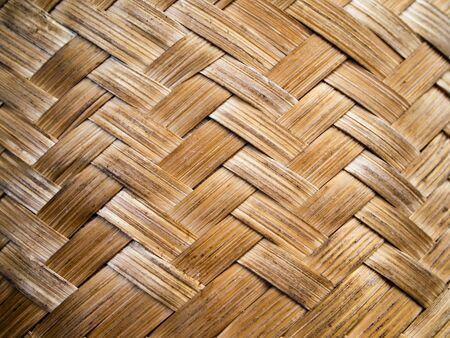 Bamboo weave pattern for web page background photo