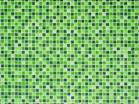 Bright Green ceramic Wall background Stock Photo - 9136427