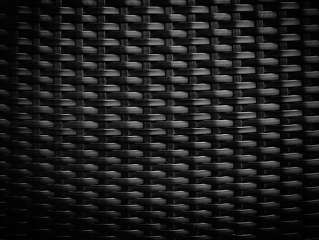 Black wicker pattern for web page background