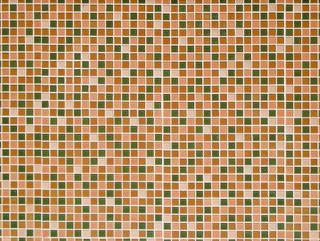 Bright orange ceramic Wall background