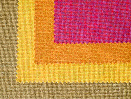 Sample hot tone color fabric for making furniture Stock Photo - 9413649